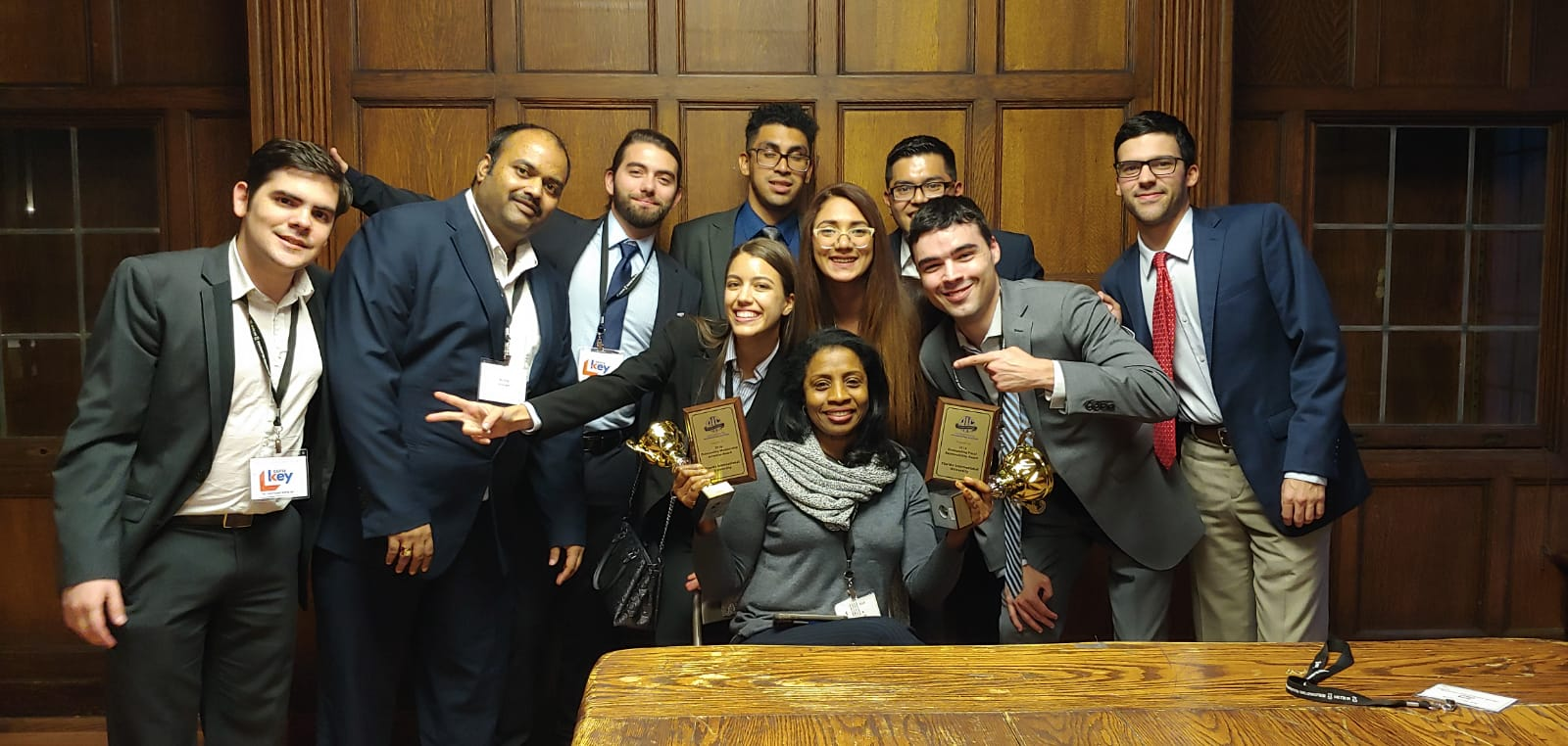 2019 - Students capture top awards in business analytics, blockchain at national conference