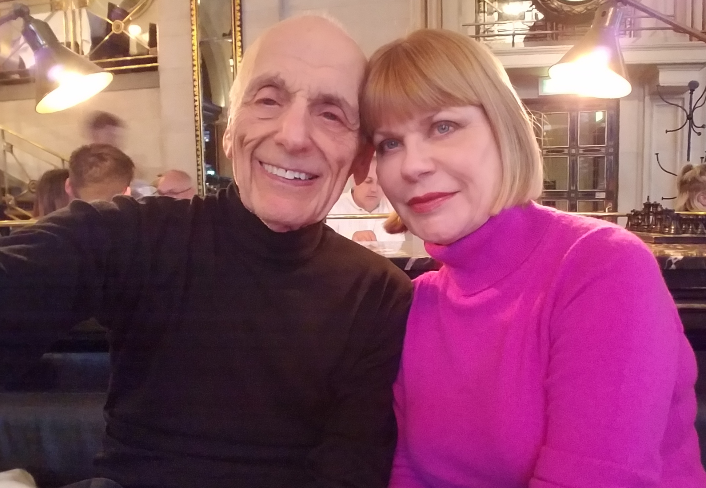 Herb Gruber and Donna Steffens '06